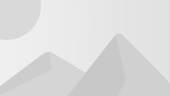 Polygonal low-poly landscape wallpaper