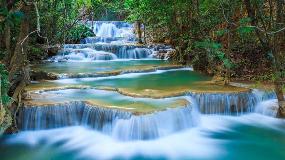 Erawan Waterfall (Kanchanaburi) wallpaper