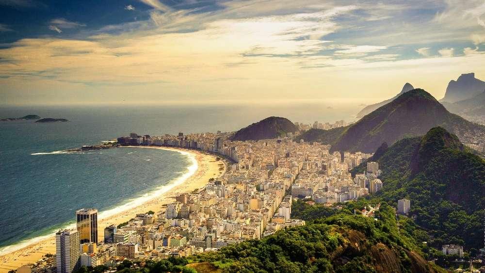 Copacabana, Rio de Janeiro (Brazil) wallpaper