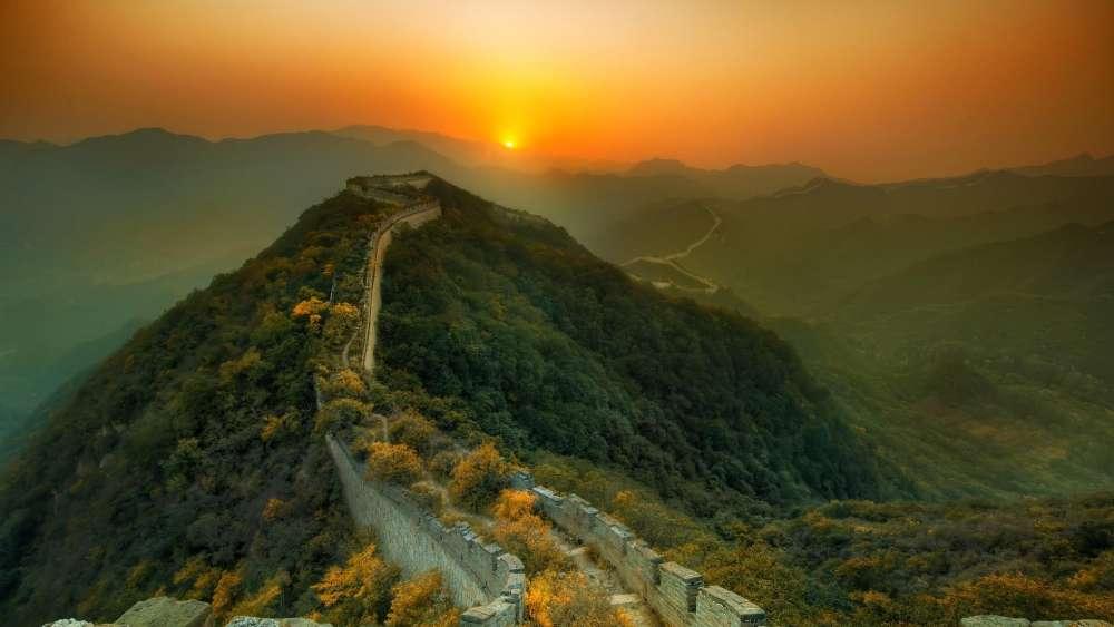 Great Wall, China wallpaper