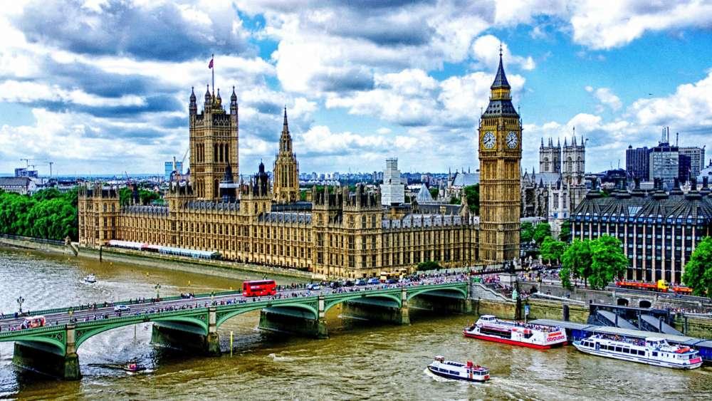 Westminster Bridge and Big Ben - London wallpaper