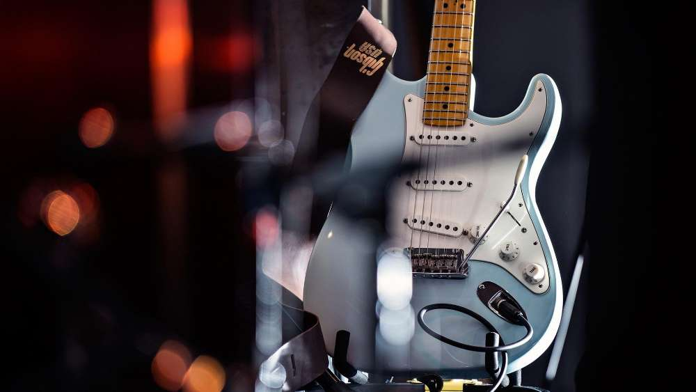 Fender Stratocaster wallpaper