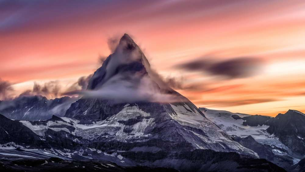 Matterhorn peak wallpaper