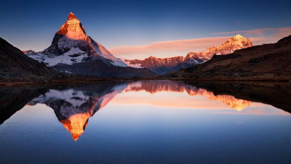 Matterhorn - The king of mountains, Zermatt, Switzerland  wallpaper