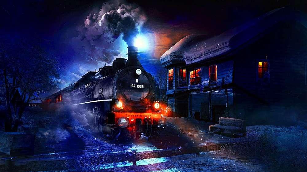 Coal train wallpaper