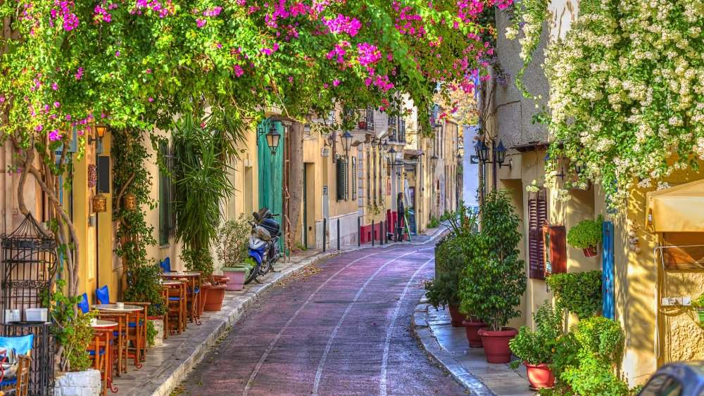 Plaka District (Athens, Greece) wallpaper