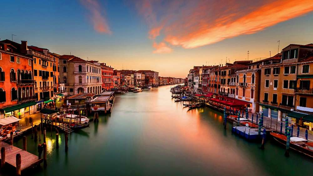 Grand Canal in Venice wallpaper