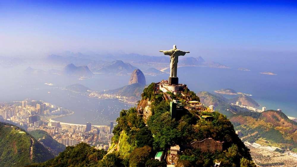 Christ the Redeemer - Rio de Janeiro, Brazil wallpaper