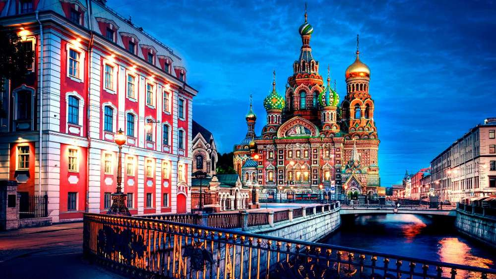 Church of the Savior on Blood in St. Petersburg wallpaper
