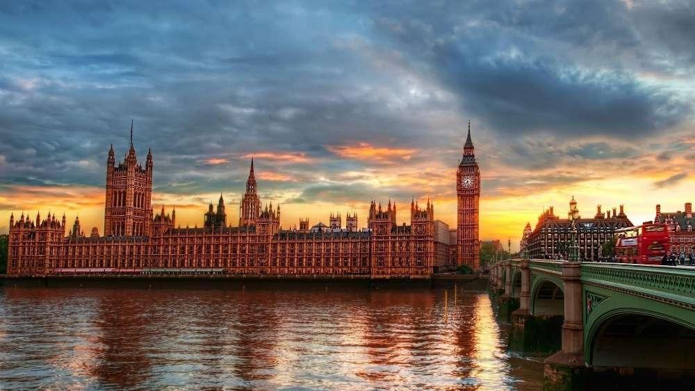 Big Ben from Westminster Bridge wallpaper