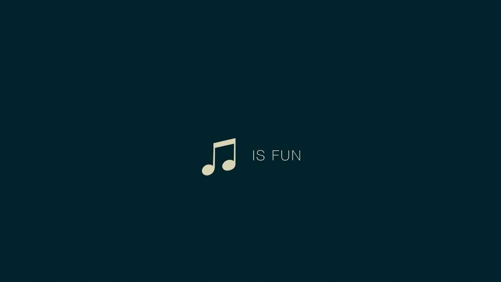 Music is fun  wallpaper