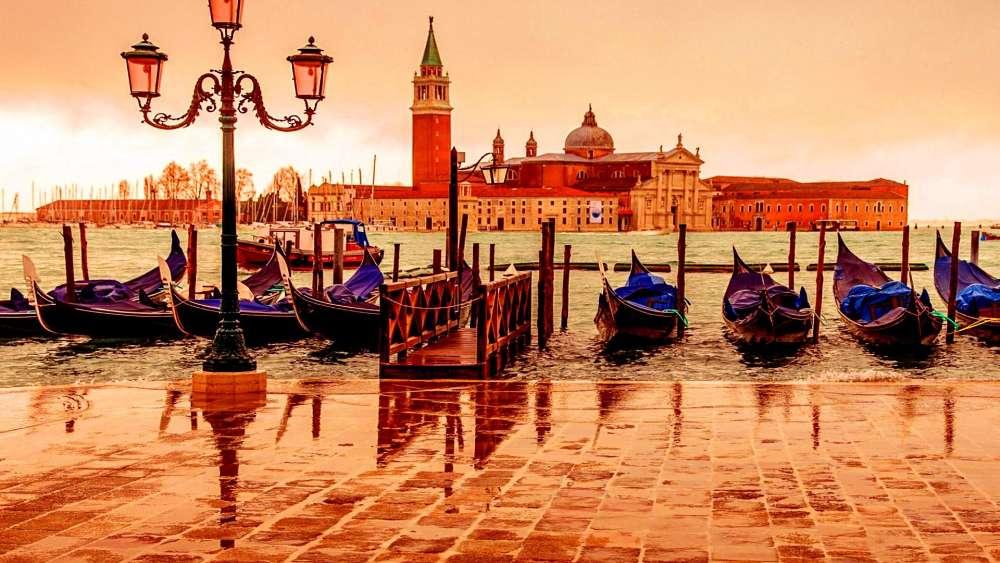San Giorgio Maggiore, Venice wallpaper