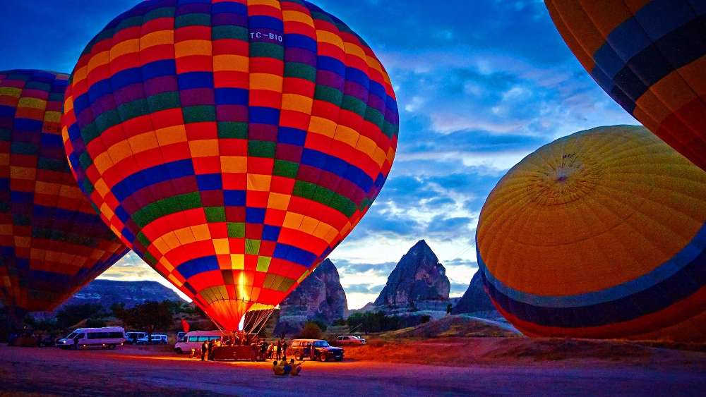 Cappadocia Hot air ballooning wallpaper