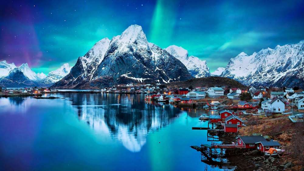 Reine - Lofoten Islands (Norway) wallpaper