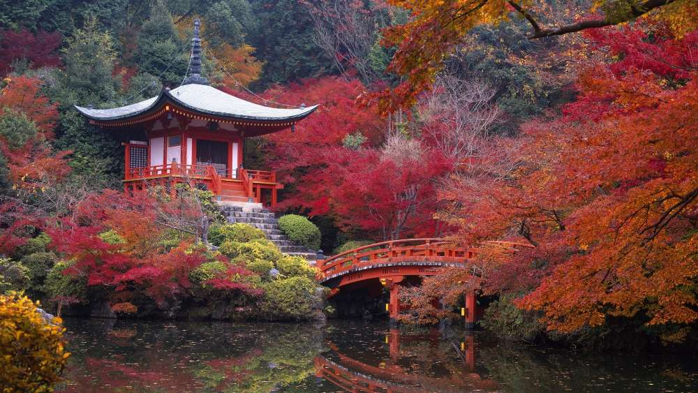 Daigo-ji Temple, Kyoto wallpaper