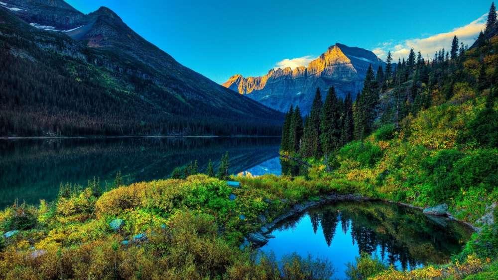 Thunder Lake - Rocky Mountain National Park, Colorado, USA wallpaper