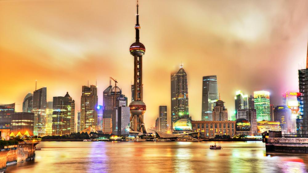 Oriental Pearl Tower (Shanghai) wallpaper