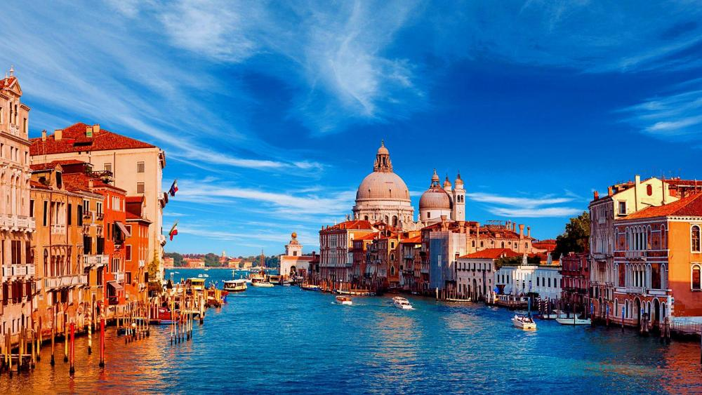 Grand Canal of Venice wallpaper