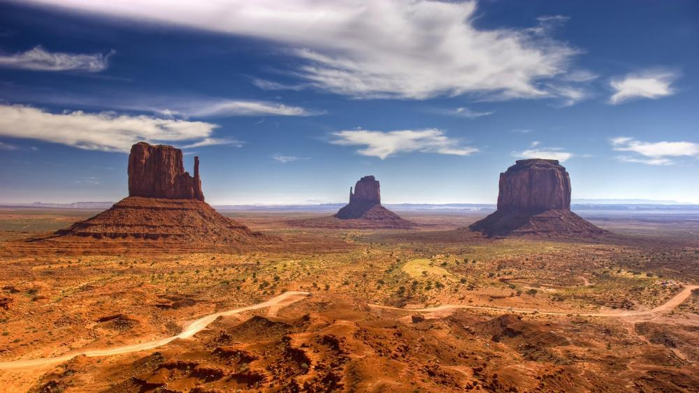 Monument Valley - Navajo Tribal Park wallpaper