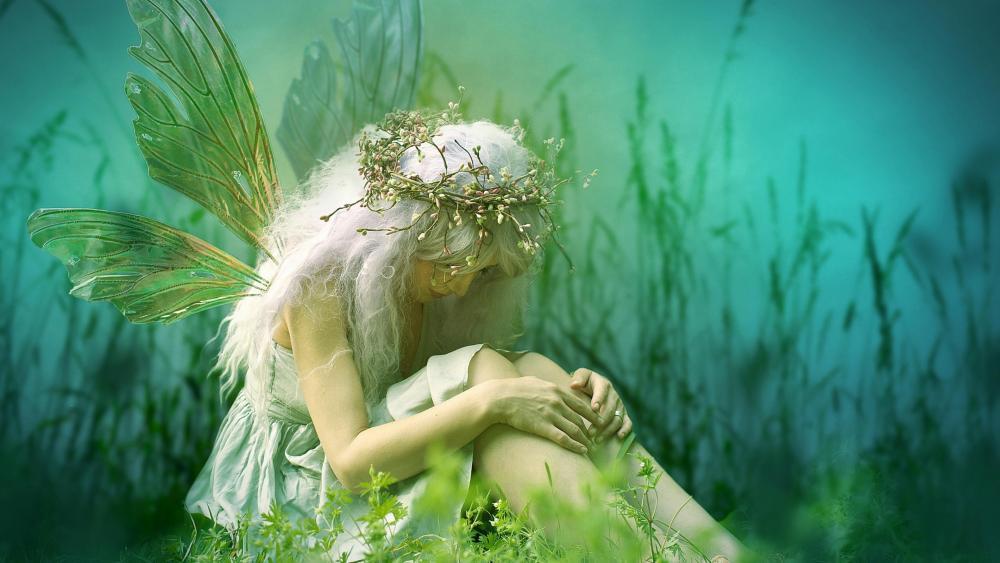 Dreamland Fairy wallpaper