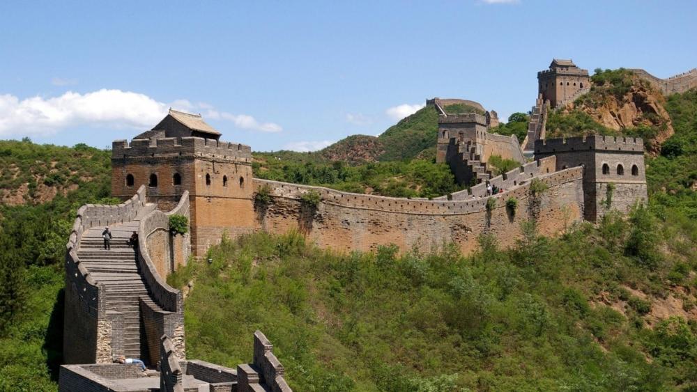 Jinshan Great Wall wallpaper