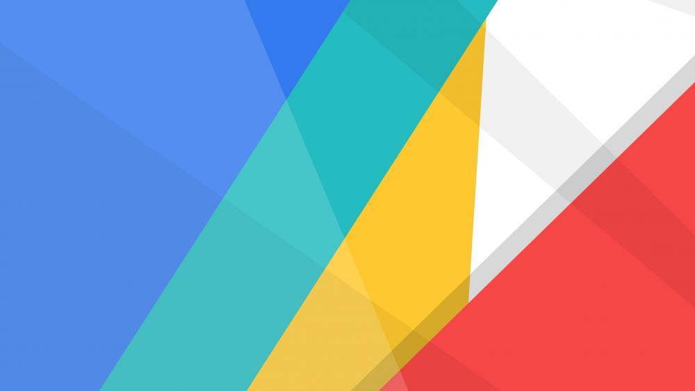 Colorful material design wallpaper