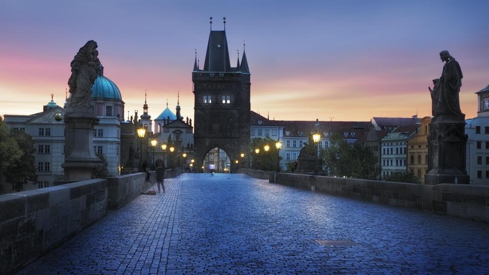 Charles Bridge - Prague, Czech Republic wallpaper