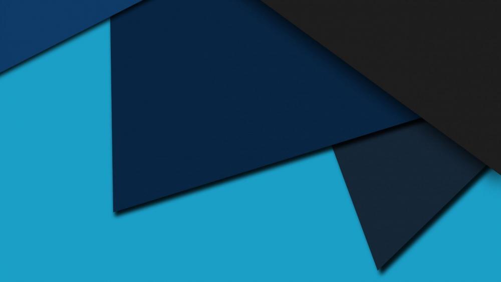Trendy material design wallpaper