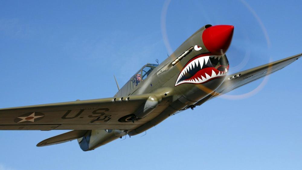 Curtiss P-40 Warhawk wallpaper