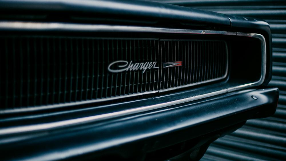 Vintage Dodge Charger wallpaper