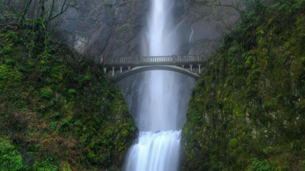 Multnomah Falls wallpaper