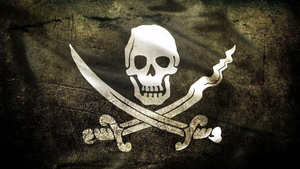 Pirate flag ☠️ wallpaper