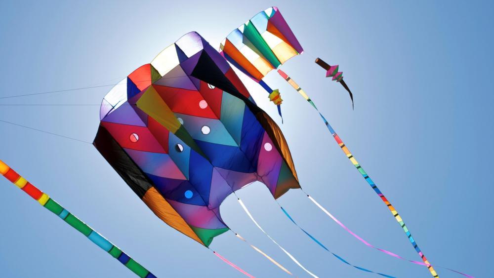 Happy Pongal Festival - Kite flying wallpaper