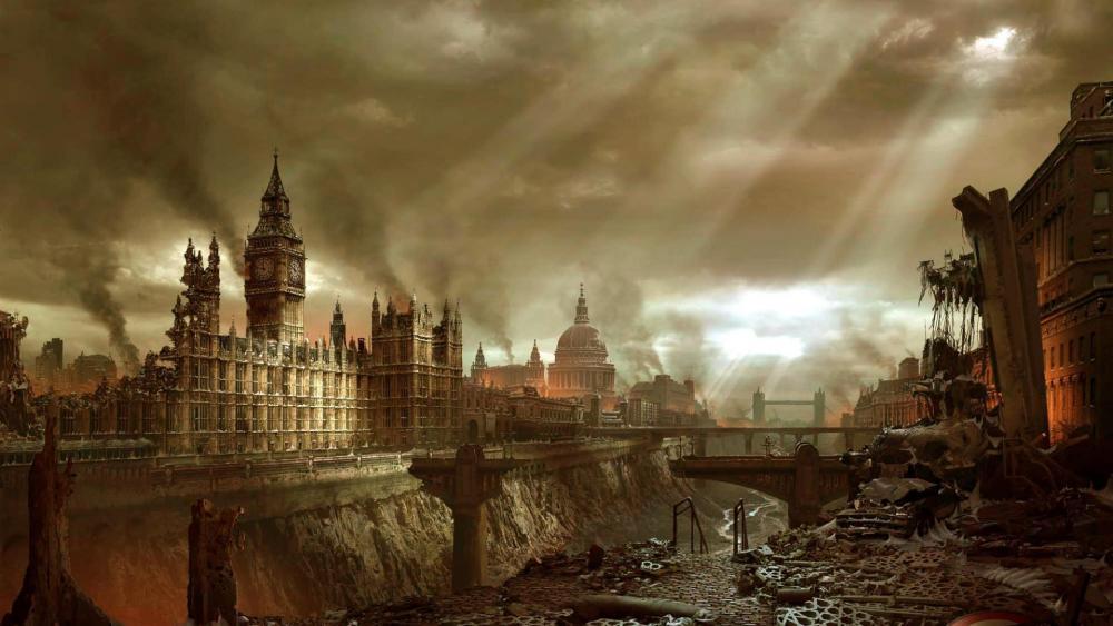 Post-Apocalyptic London wallpaper