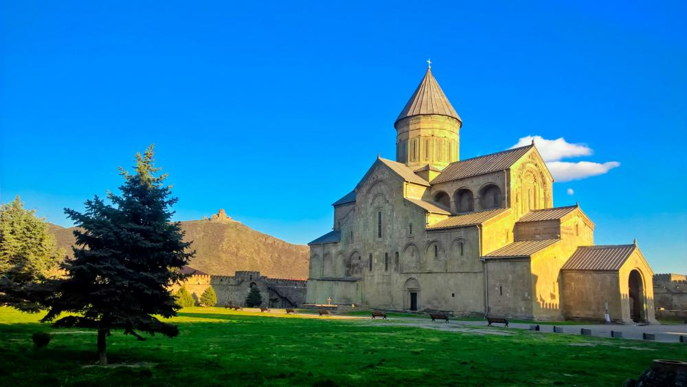 Svetitskhoveli Cathedral, Georgia ⛪ wallpaper