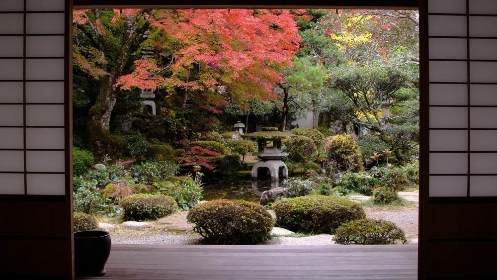 Shofuso Japanese House and Garden wallpaper