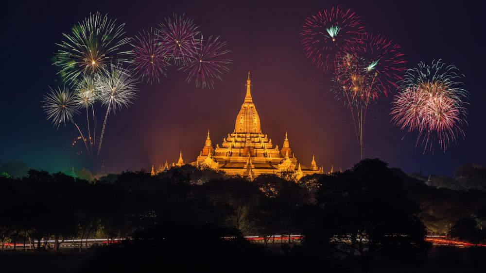 Myanmar New Year wallpaper