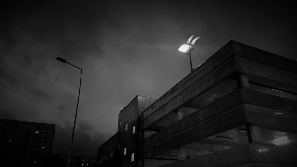 night storm wallpaper