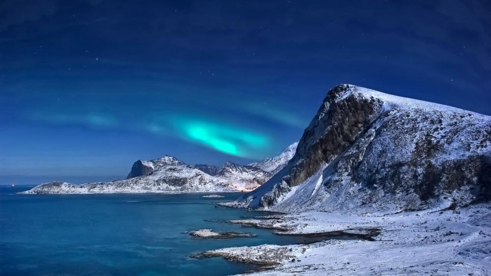 Northern Lights in Lofoten, Norway ✨ wallpaper