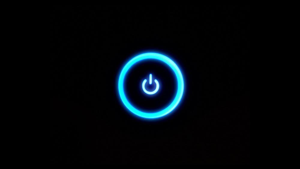 Power button wallpaper