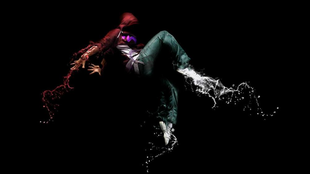 Hip Hop dance digital art wallpaper