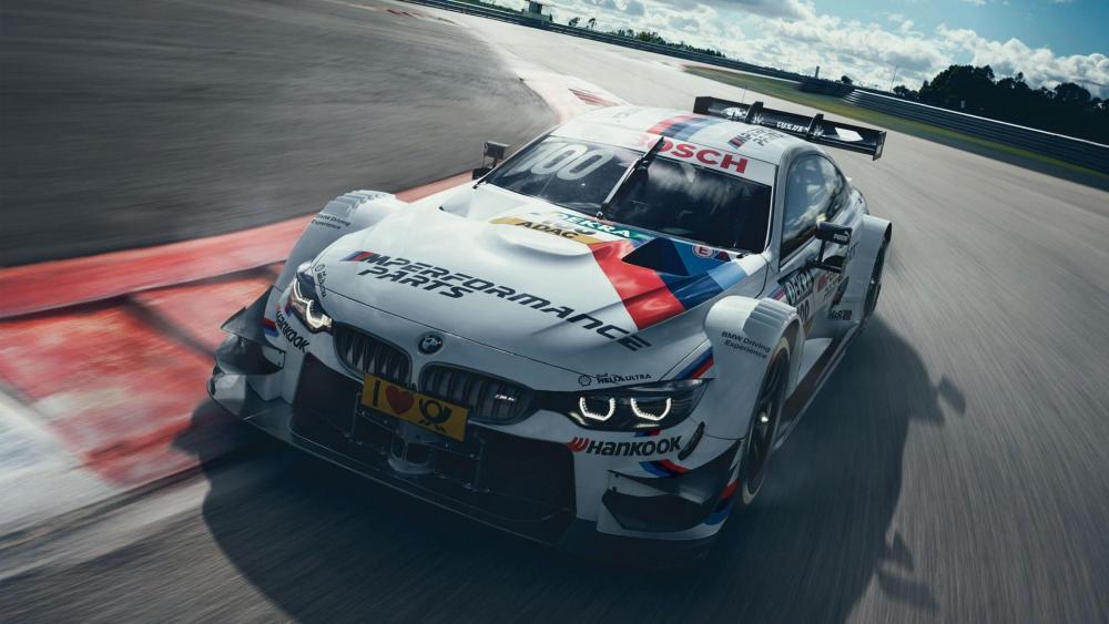 BMW sports car racing wallpaper