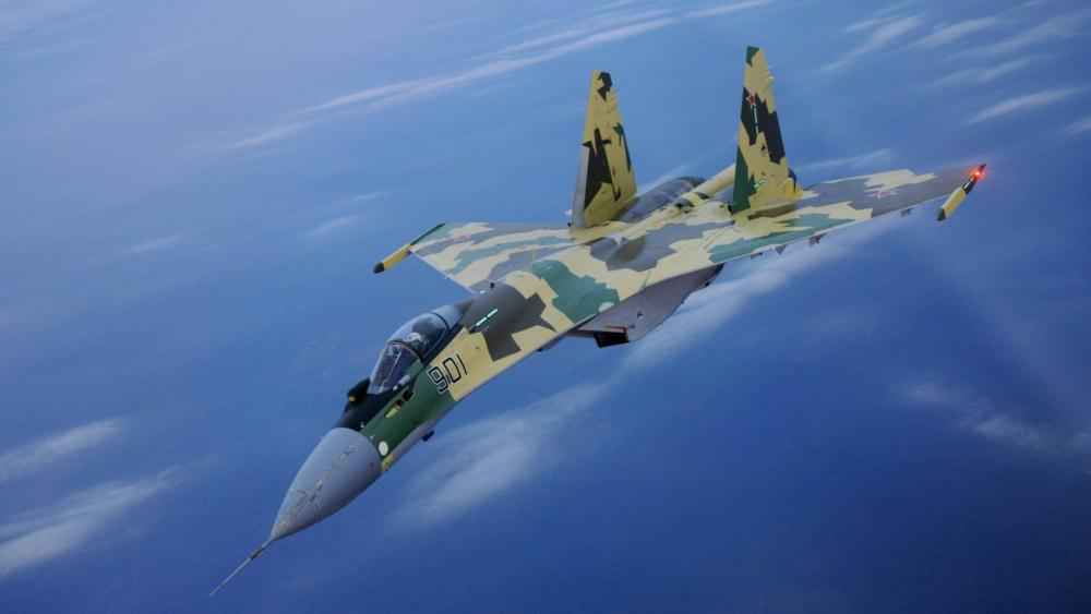 Sukhoi Su-35 airplane wallpaper