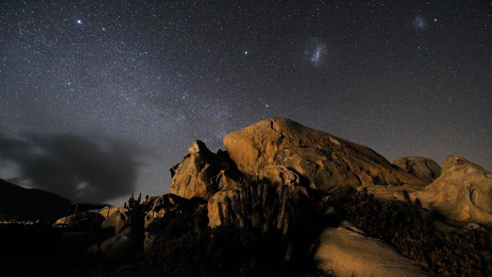Milky Way over Atacama Desert, Andes ✨ wallpaper