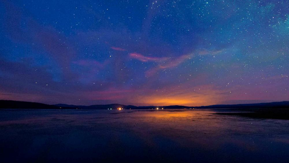 Starry night sky ✨ wallpaper
