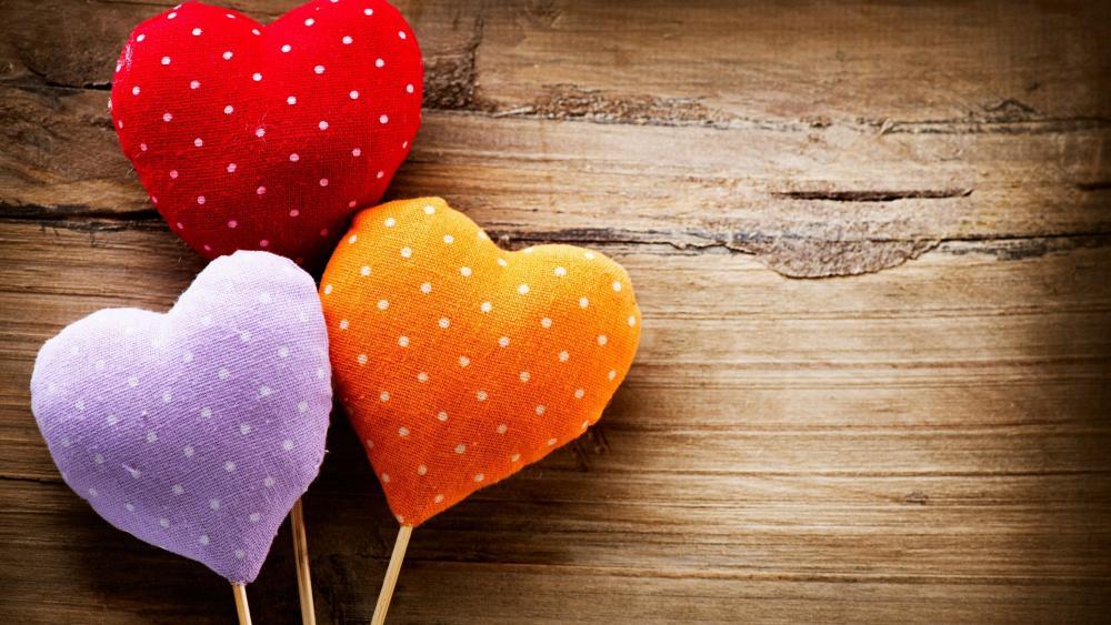 Love hearts wallpaper