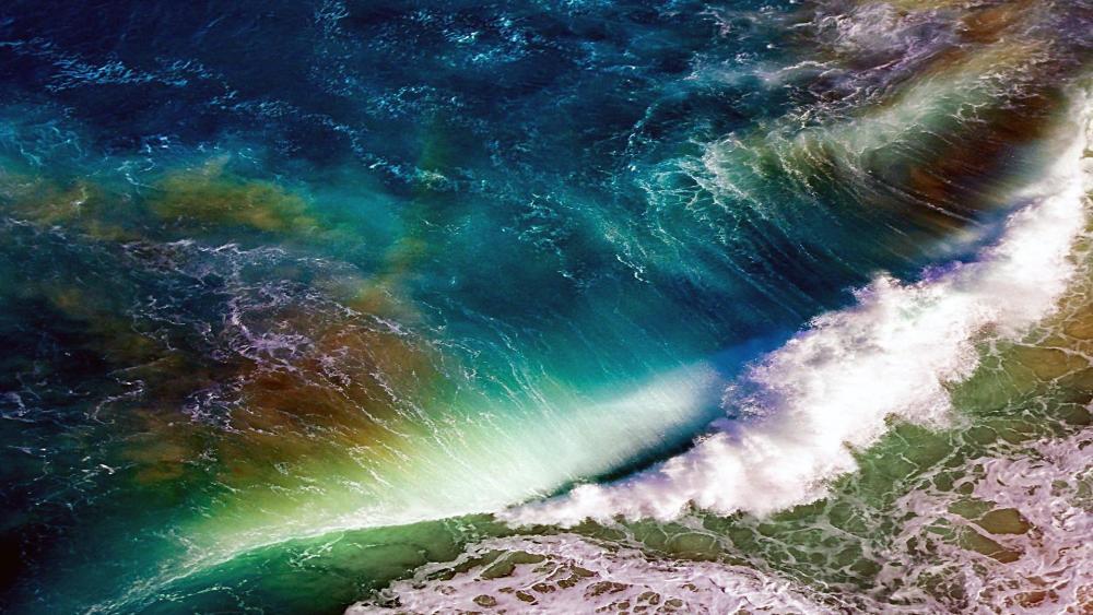 Sea wave  wallpaper