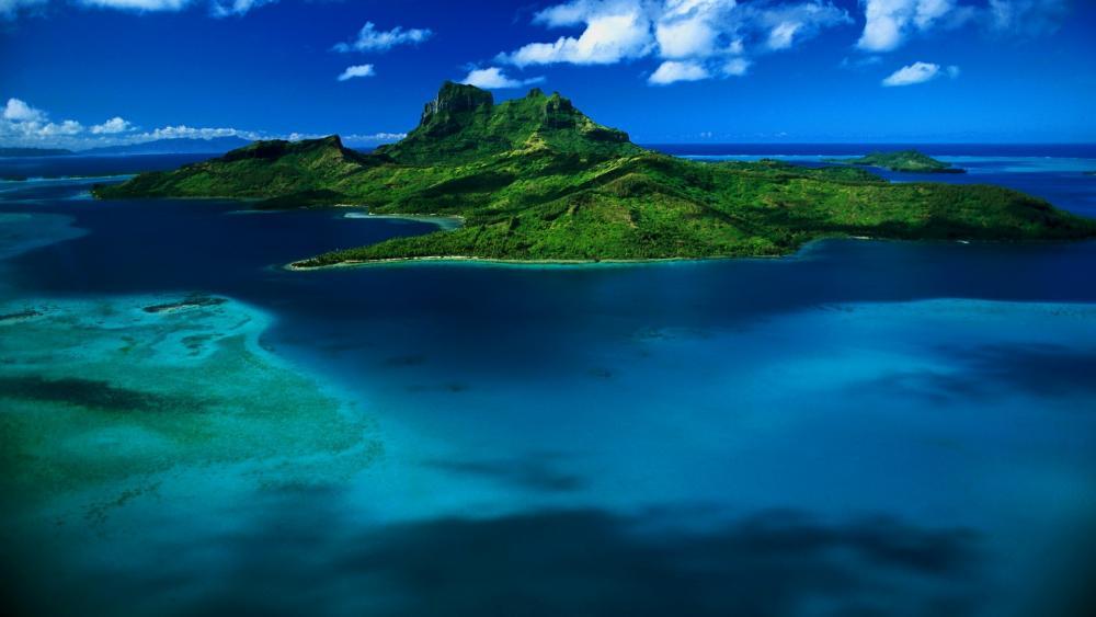 Tropical paradise - Mauritius Island wallpaper