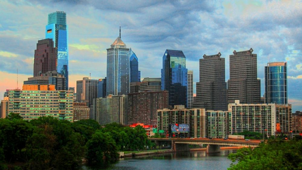 Philadelphia cityscape - Pennsylvania, United States wallpaper