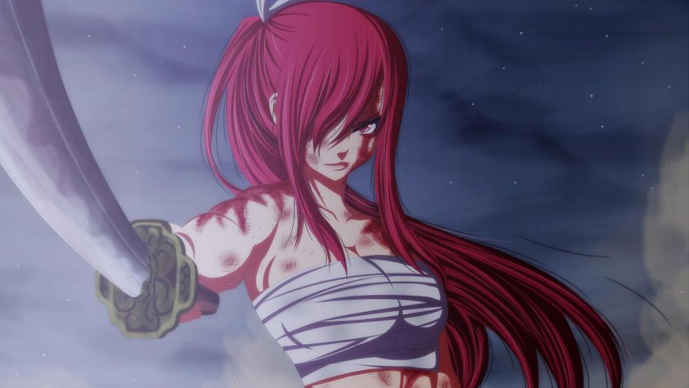 Fairy Tail - Erza Scarlet wallpaper